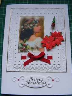 Start of Christmas card making