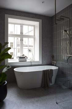 Dark shades in design have been very popular lately, and now they are used not only in modern loft spaces or bachelor pads but often in the design of ✌Pufikhomes - source of home inspiration Studio Apartment Layout, Small Studio Apartments, Small Apartment Living, Studio Apartment Decorating, Apartment Interior Design, Small Living, Modern Apartments, Minimalist Apartment, Modern Loft