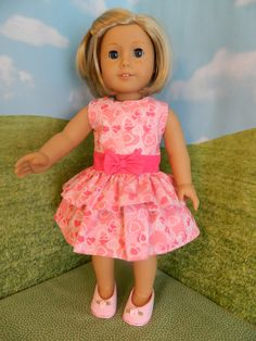 18 doll clothes American Girl doll clothes Pink by SewCuteJune