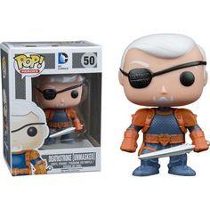 Funko Pop! Heroes DC Comics: Deathstroke Unmasked (Underground Toys Exclusive)    Funko Pop! www.detoyboys.nl