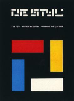 de stijl exhibition 1964