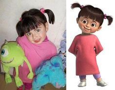 cartoon characters as real people  || @theawesomedaily