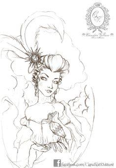Victoire - La Grande Reine - Sketch ♥