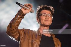 Morten Harket from A-HA performs at 2015 Rock in Rio on September 27, 2015 in Rio de Janeiro, Brazil.