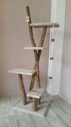 Cat Tree House, Cat House Diy, Diy Pour Chien, Cat Tree Designs, Diy Cat Tree, Cat Cages, Cat Towers, Cat Hammock, Cat Playground