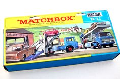 Vintage Toys Wanted by the-toy-exchange - Another stunning piece of box art by Lesney MATCHBOX.