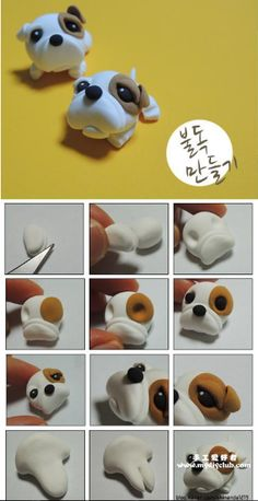 Nice dog figurine and it looks easy to do. Great idea for kids project and those making cake decorations :)