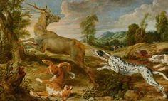 Paul de Vos, Hertenjacht - Mauritshuis