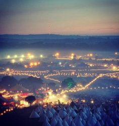 Finally get to go to Glastonbury festival at least once