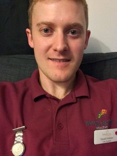 """""""My Apprenticeship combines many of my favourite aspects of work; being a happy and safe environment to work in, and also the job itself - caring for people!"""" Daniel Holmes, 24"""