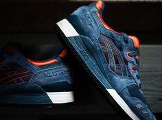 huge discount e05fe 8a3ee Asics Gel Lyte III - Navy - Orange - SneakerNews.com