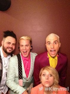 Neon Trees. On Jimmy Kimmel Live!