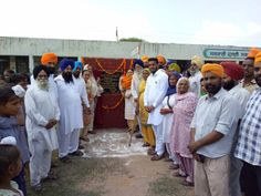 Govt schools are being opened in all villages. Recently, the govt school in Ghanaur was upgraded by MLA Harpreet Kaur Mukhmailpur after receiving grants from CM Parkash Singh Badal