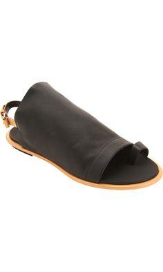 Balenciaga Toe Ring Glove Sandal