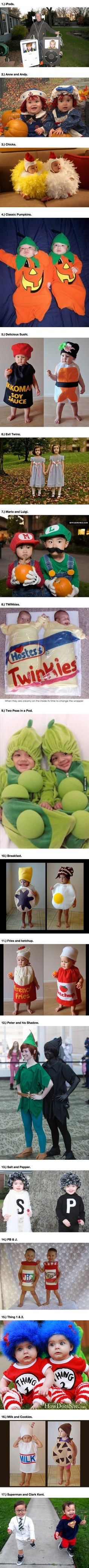 Twins Can Do The Coolest Things On Halloween...And These 17 Awesome Pairs Prove It.
