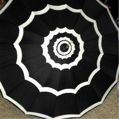 Turn a plain old umbrella into a super cute and chic umbrella.