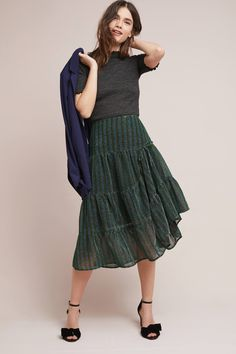Shop the Holly Metallic Skirt and more Anthropologie at Anthropologie today. Read customer reviews, discover product details and more.