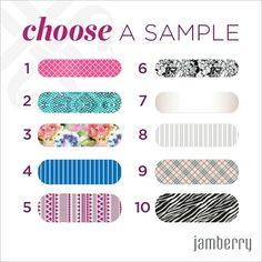 New!! Spring/Summer 2015 designs!! Want a free sample or to win an accent sheet for free? Ask me how! www.jdudzik.jamberrynails.net