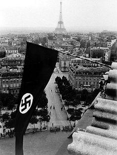Wow. Nazi occupied France, 1940