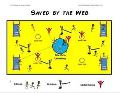 "PE GAMES FOR SUPER HEROES!- ""12 LARGE GROUP GAMES"" - TeachersPayTeachers.com"