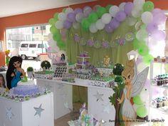 bem bolado daniela genari: Decoração Festa Infantil Provençal Clean Tinker Bell