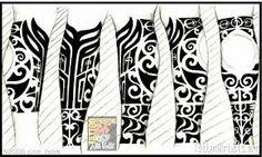 Resultado de imagen para tattoo maori perna
