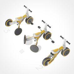 The Transformer of Trikes | Yanko Design