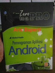 Jual beli From Zero To A Pro. Pemrograman Aplikasi Android-cd di Lapak Aris Baperti - hexa1984. Menjual Komputer - From Zero To A Pro: Pemrograman Aplikasi Android+cd ISBN: 978-979-29-2153-3 Penulis: Abdul Kadir UkuranHalaman: 20x28 cm  xii+408 halaman EdisiCetakan: I, 1st Published Tahun Terbit: 2014