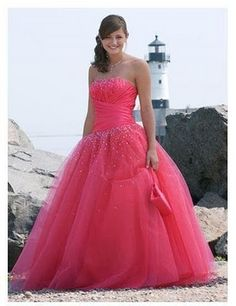 princess prom dresses, I would totally wear this if it had sleeves