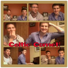 My wallpaper, with some of my screencaps, from Chapter 1 of Celtic Comet!