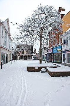 Ashford (Kent) Town Centre, High Street, February 2012