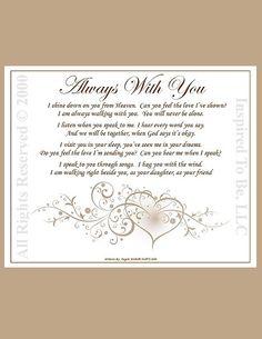memorial poems for lov...
