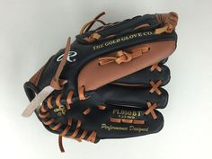 Rawlings 9.5 Inch Baseball Glove RHT Youth Players Series Model PL950BT EUC…
