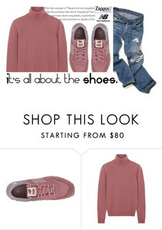 """Run the World in New Balance"" by yahav8-2002 ❤ liked on Polyvore featuring New Balance Classics, Bottega Veneta and NewBalance"