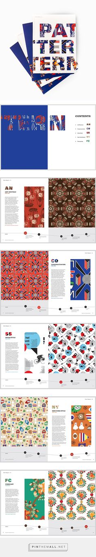 Pattern Magazine on Behance - created via https://pinthemall.net
