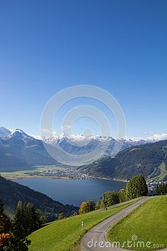 View From Mitterberg To Zell Am See Lake Zell & Kitzsteinhorn Stock Image - Image of season, recreation: 60257151 Front Walkway Landscaping, Desert Landscaping Backyard, Boxwood Landscaping, Country Landscaping, Landscape Lighting, Landscape Photos, Landscape Design, Landscape Photography, Fall Landscape