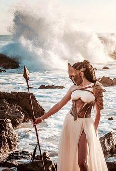 Atenea la diosa de la sabiduria y la estrategia