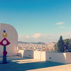 La Fundación Joan Miró, ubicada en Montjuïc posee la obra pública más importante del artista. http://www.viajarabarcelona.org/museos-de-barcelona/fundacion-joan-miro/ #Barcelona