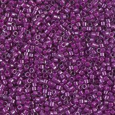 Delica 11/0 Miyuki Beads Fuchsia Lined by ButtonsBeadsandBling