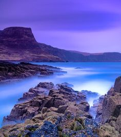 Waterstein Head, the second-highest sea cliff in Scotland. Isle of Skye, Scotland.  Photo by Grzegorz Piechowicz