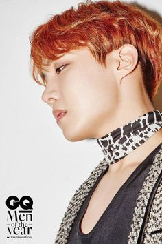 """BTShave been chosen as 'GQ Korea's 'Men of the Year 2016'!In the pictorial, the boys donned their """"Blood, Sweat, Tears"""" stage outf…"""