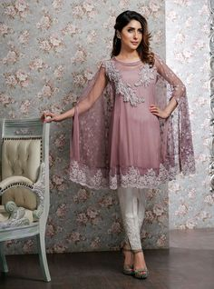 Party and wedding wear pakistani cape dresses Pakistani Cape Dresses, Pakistani Outfits, Indian Dresses, Indian Outfits, Latest Pakistani Fashion, Casual Dresses, Fashion Dresses, Casual Wear, Party Kleidung