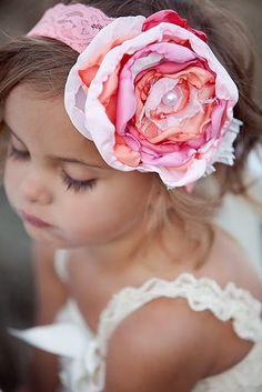 serre tete fleur