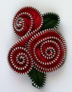 joyería artesanal de cremalleras | hacer a mano, crochet, artesanal