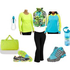 """Workout Gear- Plus Size"" by boswell0617 on Polyvore"
