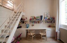 Rénovation d'appartement Luxembourg, Paris. Chambre enfants1. FELD Architecture