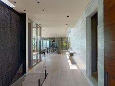 Spectacular minimalist home design in Los Angeles by SPF Architects