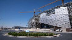 Education City Stadium Is Here | Qatar 2022 استاد المدينة التعليمية جاهز... Fifa World Cup, Louvre, Building, Travel, Buildings, Viajes, Destinations, Traveling, Trips