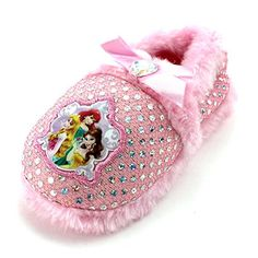 Disney Princess Girls A-Line Slippers Pink Sparkle Princess Disney Belle Beauty and the Beast Ariel The Little Mermaid Aurora Sleeping Beauty Cute Baby Shoes, Cute Baby Clothes, Babies Clothes, Princess Girl, Princess Disney, Belle Beauty And The Beast, Ariel The Little Mermaid, Sleepover, 9 And 10