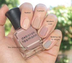 Best nude nail polish 1...Haha--Waking up in Vegas! Sweet!... :) <3